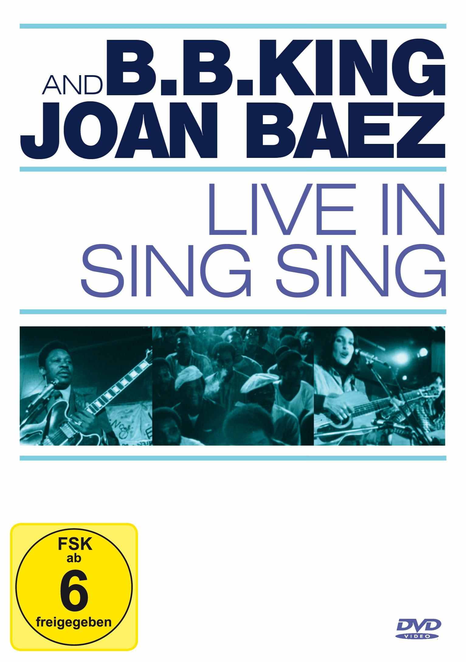 B.B. King & Joan Baez - Live in Sing Sing Poster