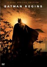 Batman Begins (Special Edition, 2 DVDs, Sonderverpackung) Poster