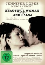 Beautiful Woman and Salsa Poster