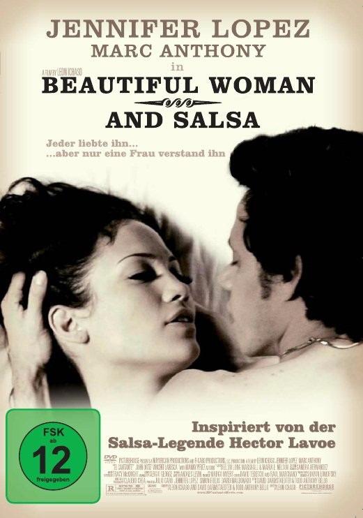 Beautiful Woman and Salsa Poster