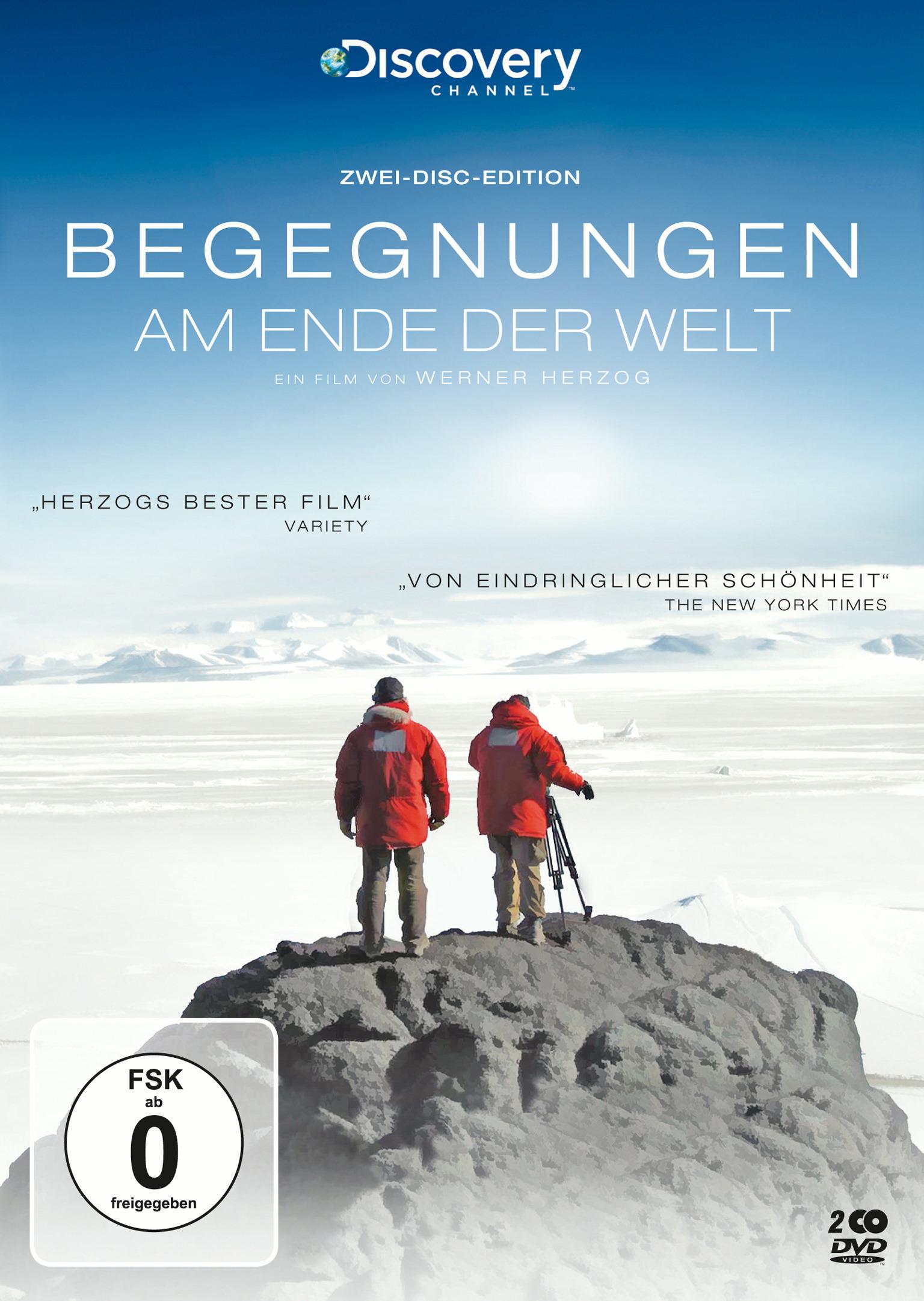 Begegnungen am Ende der Welt (2 Discs) Poster