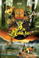 Bernd das Brot - Drei für Robin Hood Poster