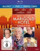Best Exotic Marigold Hotel (+ DVD, inkl. Digital Copy) Poster