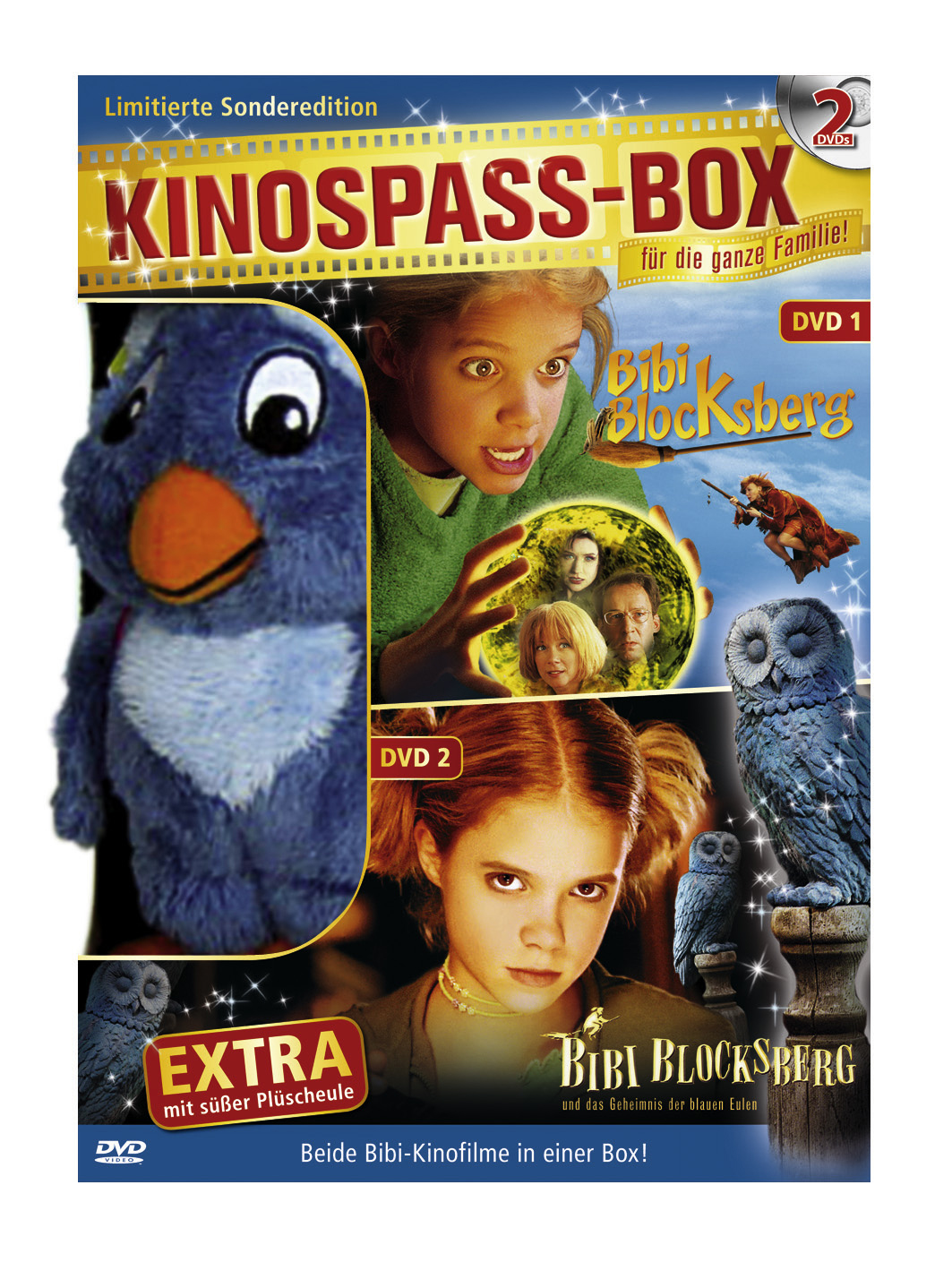 Bibi Blocksberg / Bibi Blocksberg und das Geheimnis der blauen Eulen (+ Plüscheule) Poster