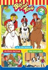 Bibi und Tina - Papi lernt reiten / Die Pferde sind krank Poster