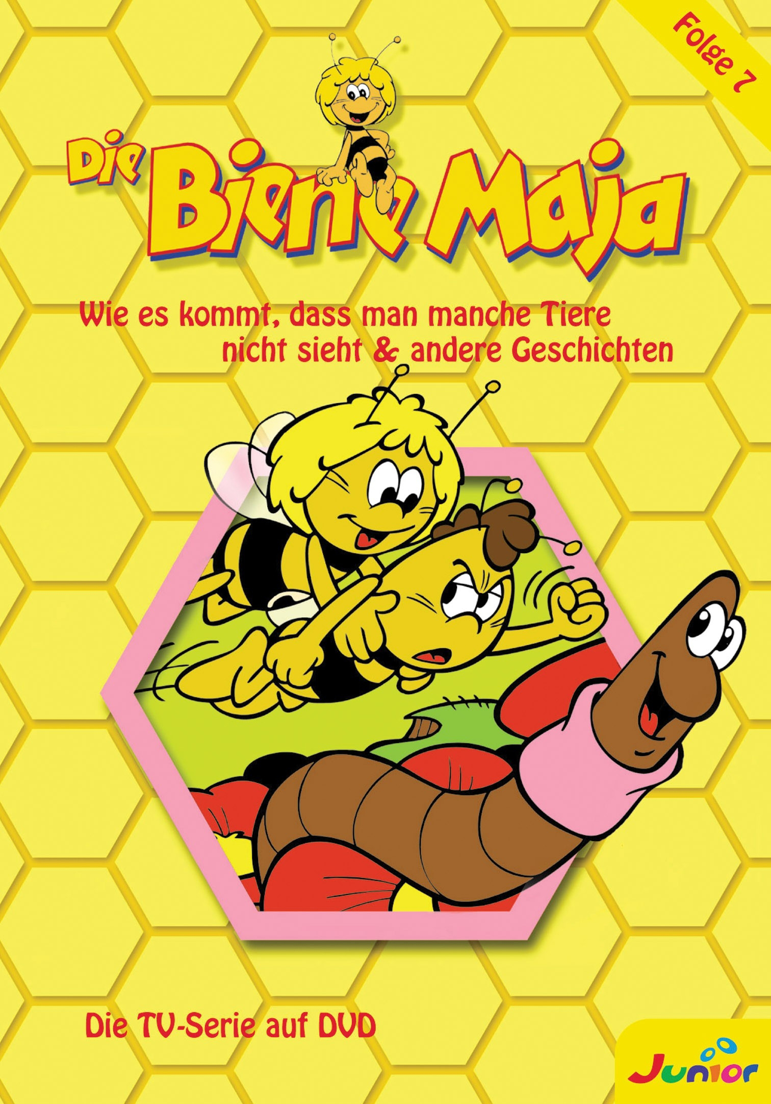 Biene Maja - (7) Wie es kommt, dass man manche Tiere nicht sieht & andere Geschichten Poster