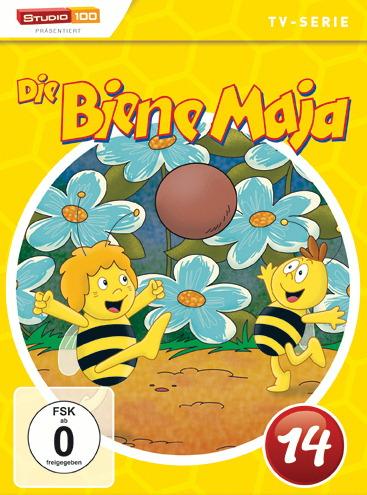 Biene Maja - DVD 14 Poster