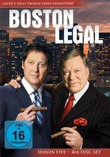 Boston Legal - Season Five (4 Discs) Poster