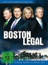Boston Legal - Season Four (5 DVDs) Poster