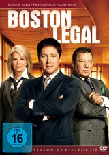 Boston Legal - Season One (5 DVDs) Poster