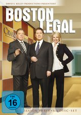 Boston Legal - Season Three (6 DVDs) Poster