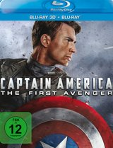 Captain America: The First Avenger (Blu-ray 3D, + Blu-ray 2D) Poster
