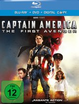 Captain America: The First Avenger (+ DVD, inkl. Digital Copy) Poster