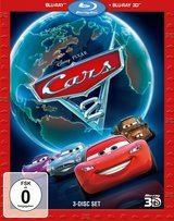 Cars 2 (Blu-ray 3D, 3 Discs) Poster