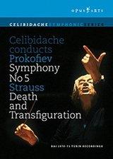 Celibidache, Sergiu dirigiert Prokofiew/ Strauss - Sinfonie Nr. 05 / Tod und Verklärung Poster
