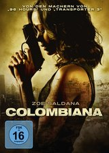 Colombiana (Steelbook) Poster