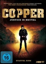 Copper - Justice Is Brutal. Staffel Eins Poster