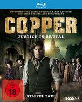 Copper - Justice Is Brutal. Staffel Zwei (3 Discs) Poster