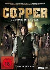 Copper - Justice Is Brutal. Staffel Zwei (4 Discs) Poster