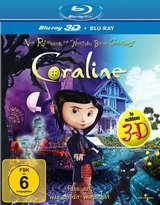 Coraline (Blu-ray 3D, + Blu-ray 2D) Poster