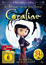 Coraline (Collector's Edition, 2 DVDs) Poster