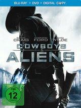 Cowboys & Aliens (Exklusiv bei Media Markt, Steelbook, + DVD, inkl. Digital Copy) Poster