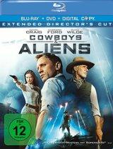 Cowboys & Aliens (Extended Director's Cut, + DVD, inkl. Digital Copy) Poster
