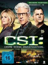 CSI: Crime Scene Investigation - Season 13.1 (3 Discs) Poster