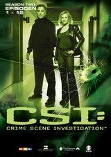 CSI: Crime Scene Investigation - Season 2.1 (3 DVDs, Amaray) Poster