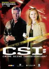 CSI: Crime Scene Investigation - Season 3.1 (3 DVDs, Amaray) Poster