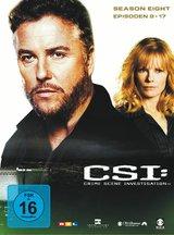 CSI: Crime Scene Investigation - Season 8.2 (3 DVDs) Poster