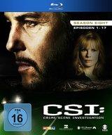 CSI: Crime Scene Investigation - Season 8, Episoden 01-17 (3 Discs) Poster
