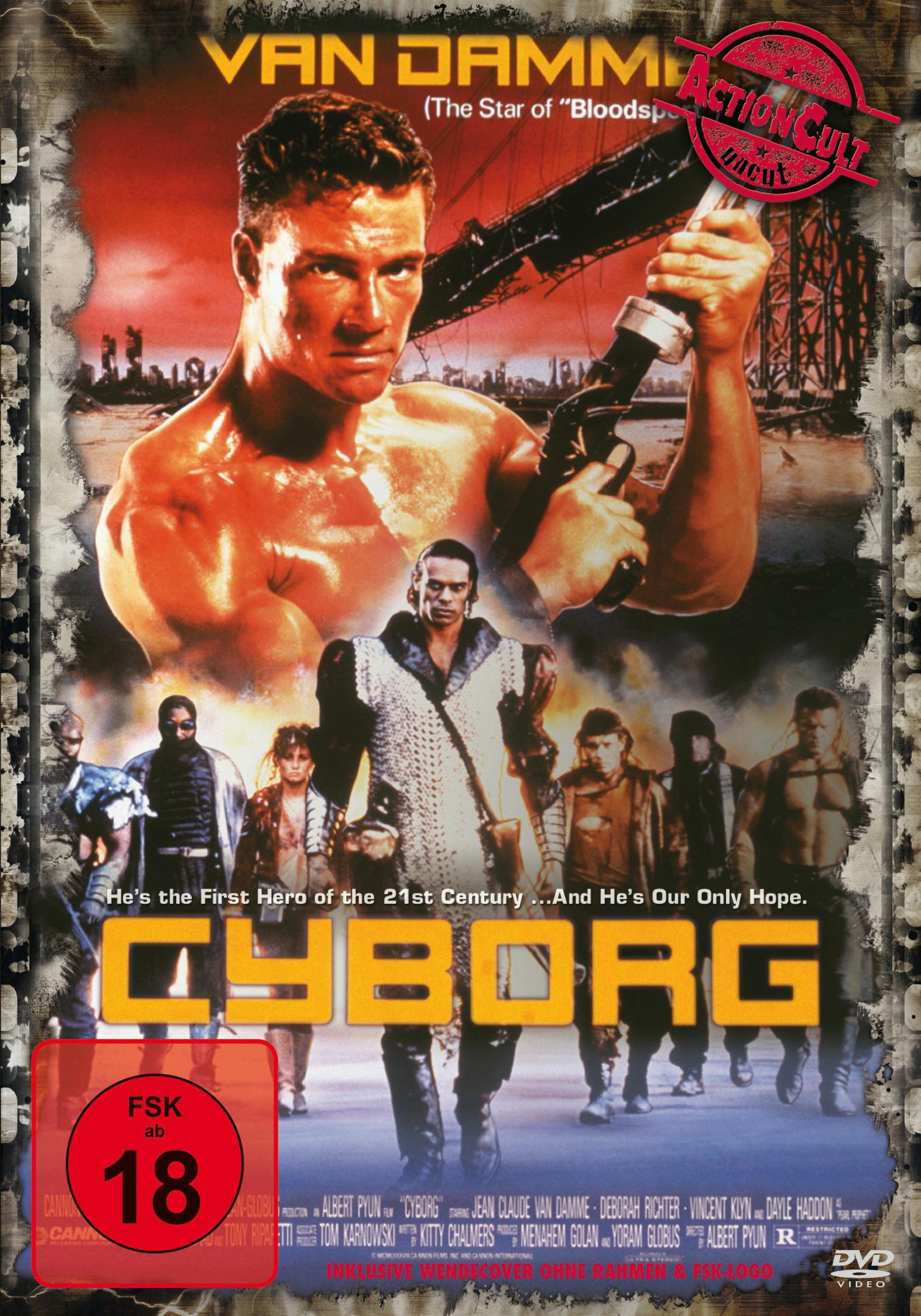 Cyborg (Action Cult, Uncut) Poster