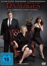 Damages - Im Netz der Macht, Die komplette vierte Season (3 Discs) Poster