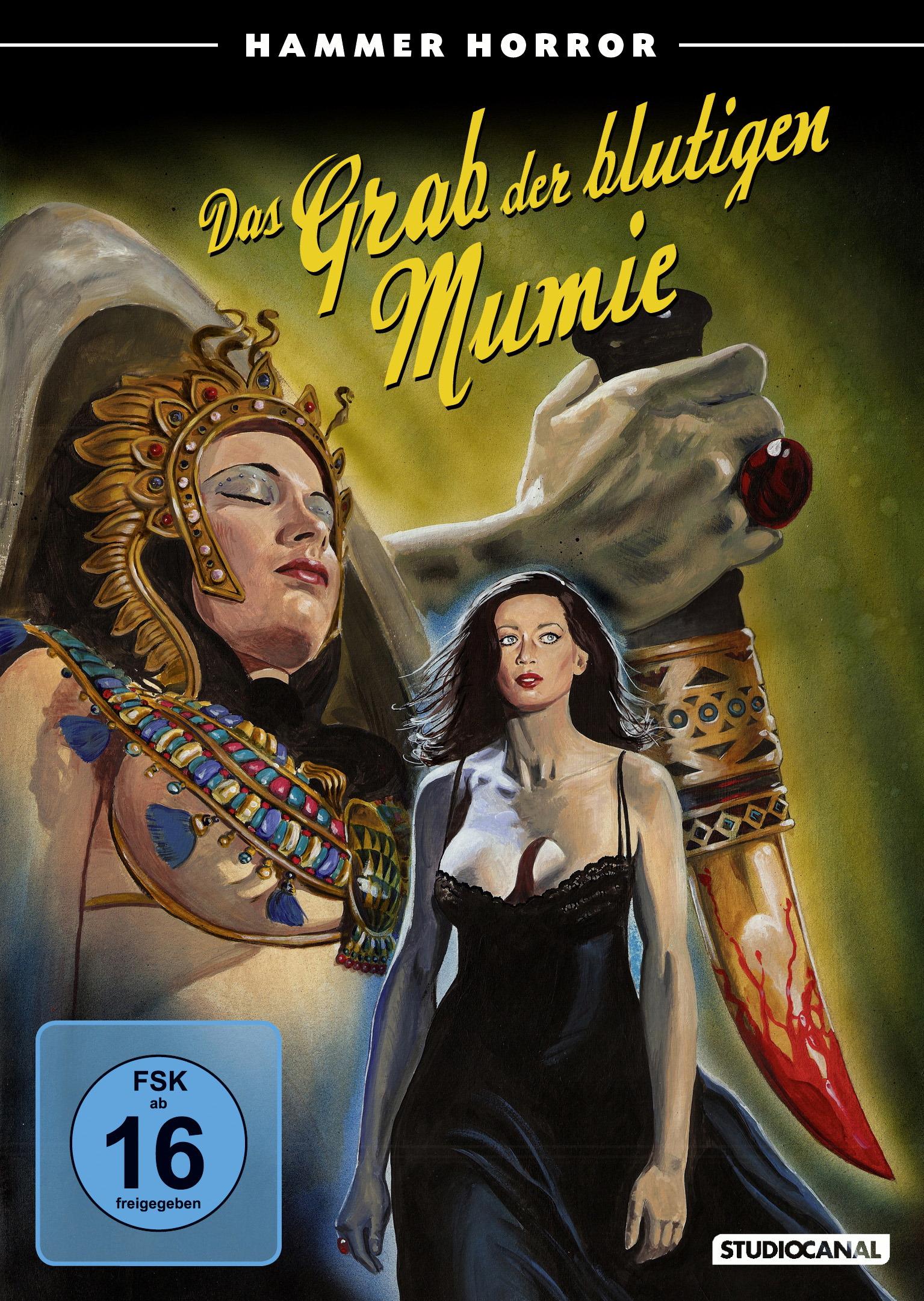 Das Grab der blutigen Mumie Poster