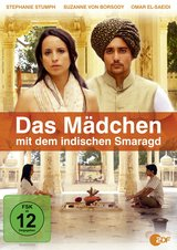 Das Mädchen mit dem indischen Smaragd Poster