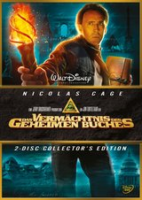 Das Vermächtnis des geheimen Buches (Collector's Edition, 2 DVDs) Poster