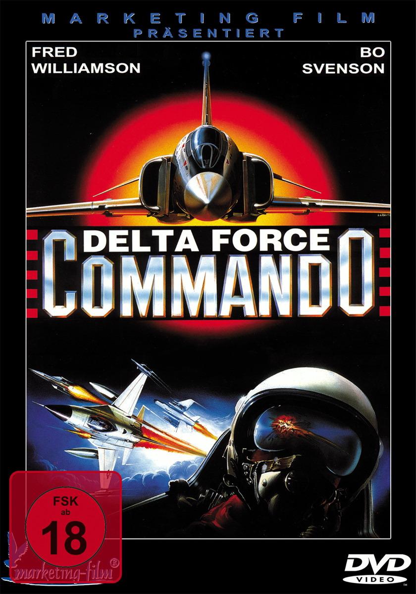 Delta Force Commando Poster