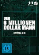 Der 6 Millionen Dollar Mann - Staffel 1-3 (14 Discs) Poster