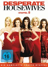 Desperate Housewives - Staffel 5: Die komplette fünfte Staffel (7 Discs) Poster