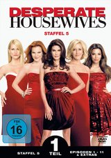 Desperate Housewives - Staffel 5, Teil 1 (3 DVDs) Poster