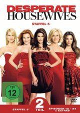 Desperate Housewives - Staffel 5, Teil 2 (4 DVDs) Poster
