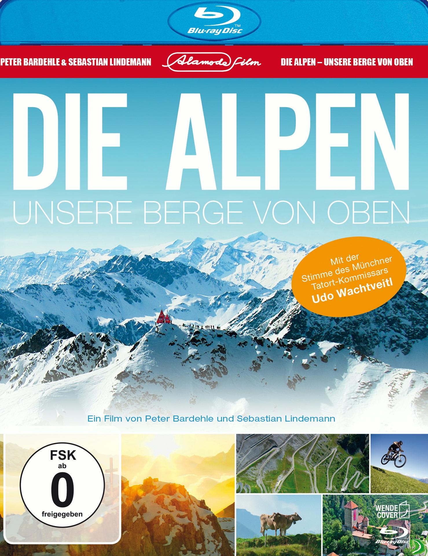 Die Alpen - Unsere Berge von oben Poster