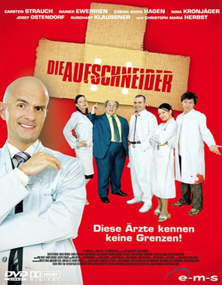 Die Aufschneider (Einzel-DVD) Poster