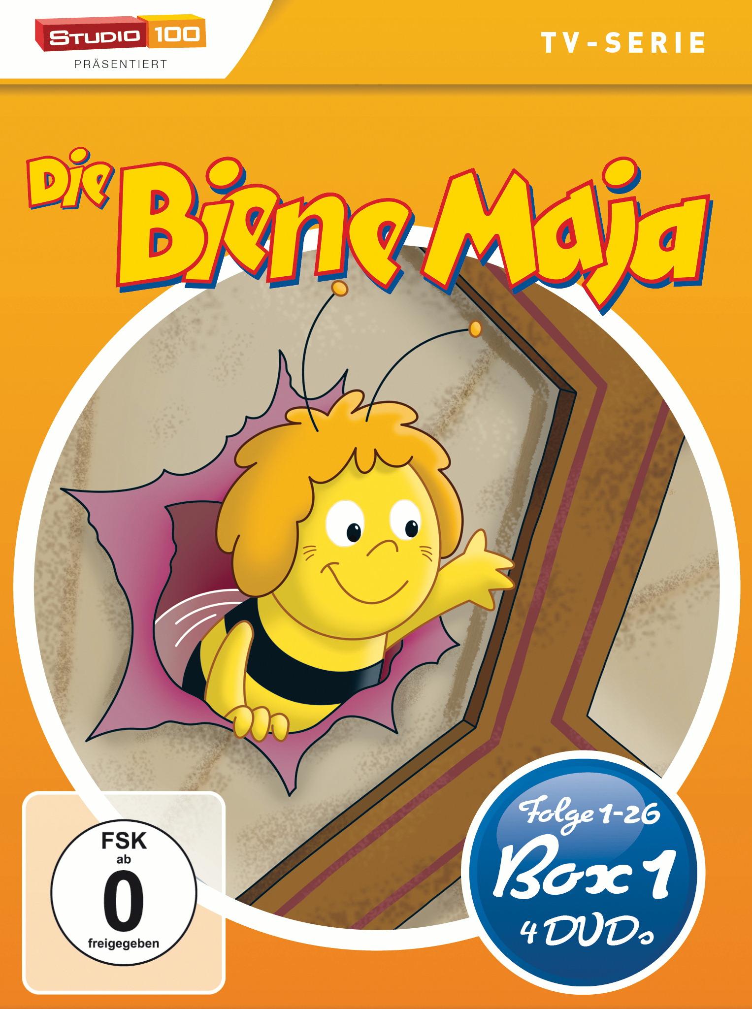 Die Biene Maja - Box 1 (4 Discs) Poster