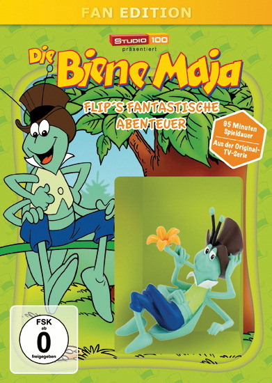 Die Biene Maja - Flip's fantastische Abenteuer (Fan Edition + Sammelfigur) Poster