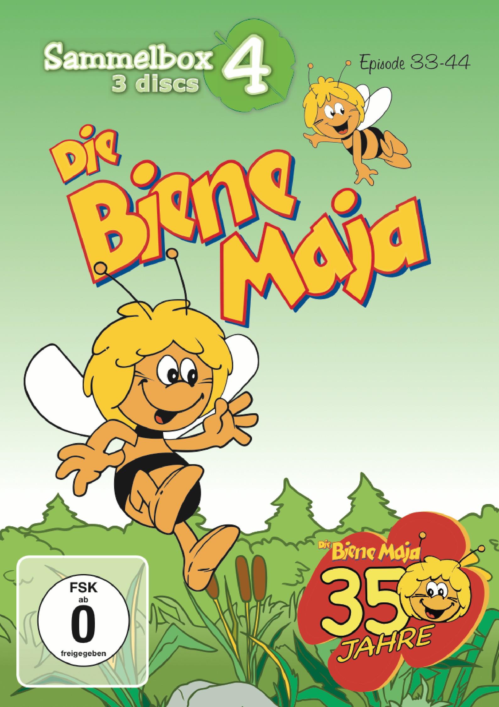 Die Biene Maja - Sammelbox 4 (3 Discs) Poster