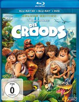 Die Croods (Blu-ray 3D, + Blu-ray 2D, + DVD, Deluxe Edition) Poster