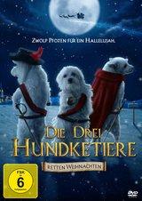 Die drei Hundketiere retten Weihnachten Poster