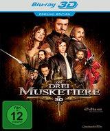Die drei Musketiere (Blu-ray 3D, Premium Edition) Poster